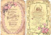 savon/perfume labels