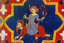 Medieval / medieval patterns & bestiaries