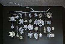 DIY Papier - Schneeflocken
