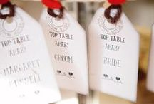 escort cards, place cards, table planners/seating charts / Creative ideas to incorporate into a destination wedding abroad, including fun travel themed escort cards, fragrant potted herbs, DIY place cards plus many more examples to tie in with your chosen wedding location or theme.