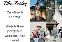 wedding films & cinematic trailers ~ weddings abroad / We didn't have a videographer at our wedding...and I wish we had...it's the best keepsake of the day!  Here is a collection of some fabulous destination wedding videos from around the globe!