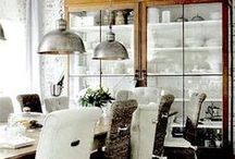 Open plan kitchen living / One day, once I get my extension.
