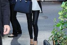 Leggings are Pants / Outfit Ideas for Leggings. Casual to dressy and everything in between.