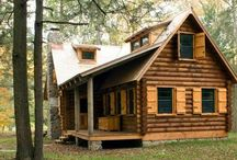 (Cabin Life) / Rustic cabins and camp style