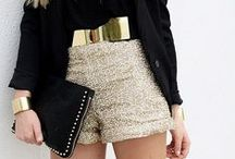 Wear with style  / shorts with elegant touch / by Micksaris Garcia