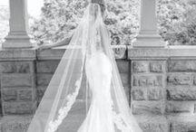 Sensual siren wedding dress / For a sensual and elegant bride