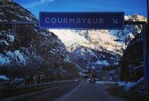 winter in Courmayeur