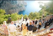 unique wedding venues ~ destination weddings / A collection of ceremony & reception venues for your wedding abroad with that added WOW factor.