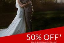 special offers ~ destination weddings abroad packages / I asked all the fantastic destination wedding vendors who feature on Weddings Abroad Guide if they could pass any special offers, great deals and savings onto you... Offers will be coming and going all the time, so be sure to head back here and check this page frequently.