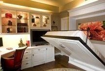Murphy bed, built-ins and other beds