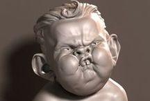 3D sculpture inspirations / Inspiring 3D work