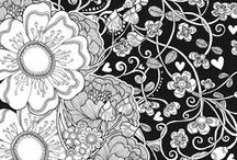 Adult Coloring / Free printable Adult Coloring Pages. Each pin usually contains multiple sheets to choose from!