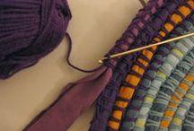 Crochet - baskets, blankets, carpets