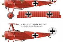 The Beginning Years / The early years of aviation, up to the end of the First World War