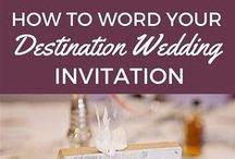wedding abroad invitaions
