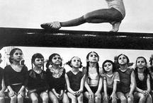 GYMNASTICS / gymnastics / trampoline / dance / by Kali P.