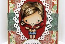 Anya! / Anya stamps can be found at thegreetingfarm.com