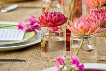 Inspiration: Decor for Entertaining / entertaining, styling, decorations, themes, weddings, parties, lunch, dinner, events, holidays, decor / by Meisha Strykowski
