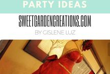 Red Party Idea / Red Parties