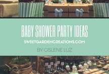 BABY SHOWER Party Ideas / baby shoer party ideas