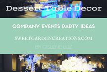 Company Events Decor Ideas / Company events