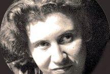 Etty Hillesum / (15 January 1914 in Middelburg, Netherlands – 30 November 1943 in Auschwitz, Poland)