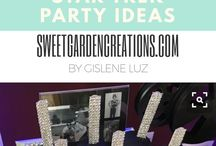 Stars Party Ideas / Dessert tables by sweet garden creations