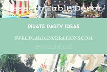 Pirates' Party ideas / Dessert tables by Sweet Garden Creations