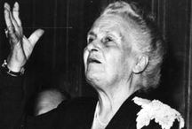 Montessori Quotes / Quotes from or pertaining to Dr. Maria Montessori and her teachings