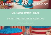 Cat in the Hat Party Ideas / Dr Seuss Party Ideas