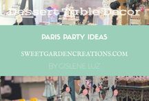 Paris Party Ideas / DIY and Party ideas for Poodle in Paris Party Theme