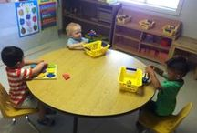 Classroom A1 / WELCOME TO THE TODDLER ROOM!  We are 18-36 months old.