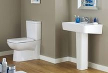 Prestige Bathroom Collections / Our exclusive range of Prestige sanitaryware is designed to dazzle. The only part that is not high-end is the price! / by Pioneer Bathrooms
