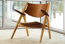 Style: Chairs / Mid Century, Modern, Scandinavian, Wooden, Contemporary Chairs. / by Meisha Strykowski