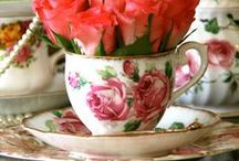 Pretty Tea Cups / Eddison & Melrose Tea Cups