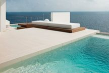 Inspiration: Pools / Modern, contemporary, luxury, pools, plunge pools. / by Meisha Strykowski