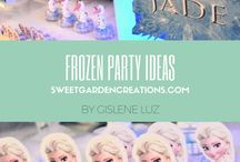 Frozen Party Ideas / Frozen party Ideas
