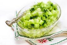 Recept - grönsaker / Olika slags inläggningar