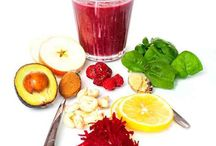 Hälsosam dryck och mat / Energigivande drycker/mat för att stärka immunförsvaret och hälsan i allmänhet