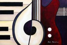 Music & Art / Collection of artwork inspired by music or related to musical ideas.
