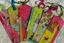 tags  / etiquettes creatives / paintings and collage decorez vos etiquettes pour vos cadeaux