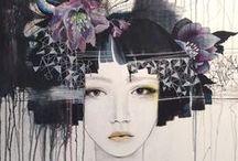 ART watercolor / paintings