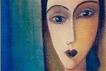 ARTIST Amedeo Modigliani / nothing to say  just look and appreciate
