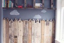 pallet lovers /amoureux des palettes / building furniture and decorations with pallets fabriquer des meubles et decos avec des palettes