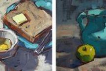 painting tricks/ astuces en peinture d'art / how to paint  trucs et astuces pour peinture d'art
