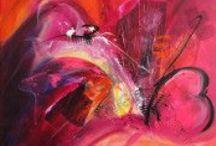 ARTISTE Isabelle Zacher finet / German acrylic painting  artist