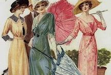 Women`s fashion 1910`s