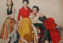Women`s fashion 1950`s