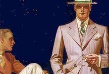 Men`s fashion 1930`s