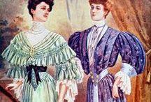 Women`s fashion 1900`s